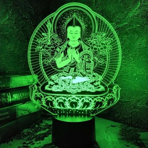Светильник Будда