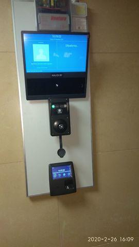Скуд-Алко биометрический терминал PERCo CR11