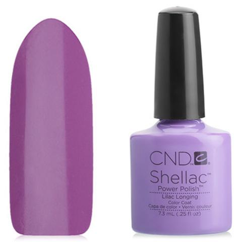 Гель лак CND Shellac Lilac Longing купить за 900руб
