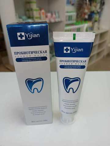 Зубная паста с пробиотиками Yijian 100г