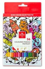 Карандаши цветные TEENAGE 3555, 36 цветов с точилкой