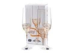 Набор бокалов для шампанского «Виола», 190 мл, фото 2