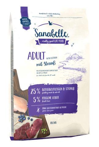 Bosch (2 кг) Sanabelle Adult Ostrich  с мясом страуса