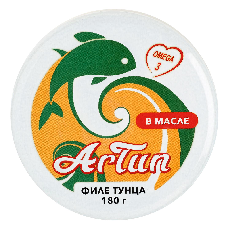 Тунец ARTUN консервированный филе