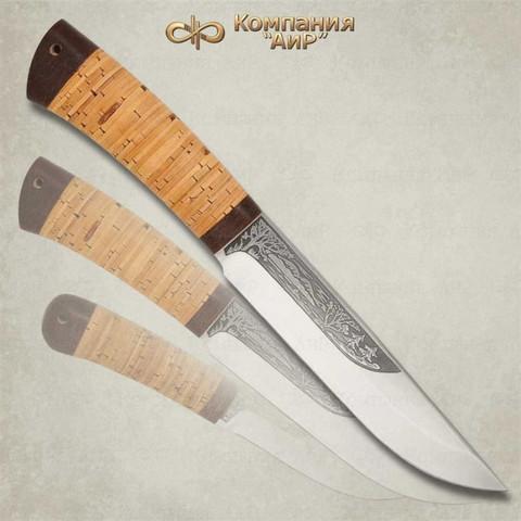 Нож Шашлычный большой, береста, 95х18