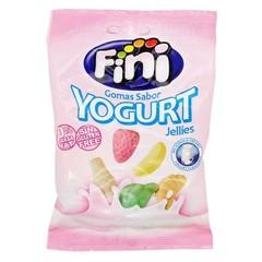 Жевательный мармелад Fini Yogurt jellies йогуртовые фрукты 100 гр