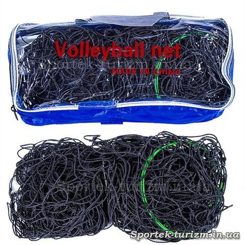 Сетка волейбольная VN-2 (ячейка 14*14 см)