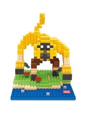 Конструктор Wisehawk & LNO Мастер Обезьяна 369 деталей NO. 2390 Monkey Kung Fu Panda mini blocks