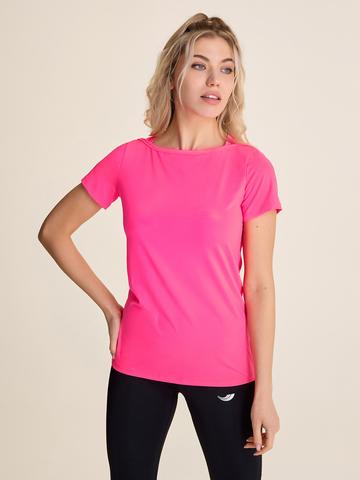 Футболка жен для йоги Neon