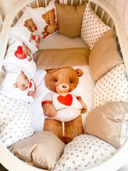 Бортики для кроватки с одеялком «Сладких снов»