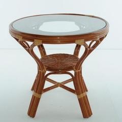 Столик обеденный из натурального ротанга Vinotti Медан