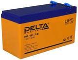 Аккумулятор DELTA HR 12-7.2 ( 12V 7,2Ah / 12В 7,2Ач ) - фотография