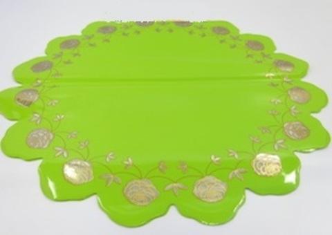 Салфетка Розочка (d=60см, упак.= 50 шт.) Цвет: салатовый