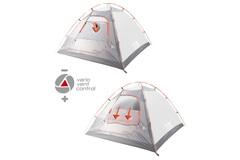 Купить кемпинговую палатку High Peak Durban 6   от производителя со скидками.