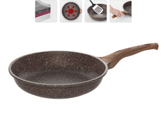 Сковорода с гранитным антипригарным покрытием Greta, 28 см NADOBA