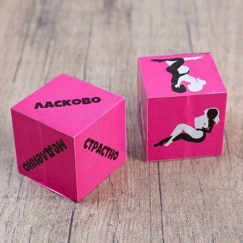 Кубики для любовных игр  Девушки
