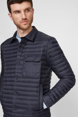 Мужская темно-синяя куртка PACKABLE DOWN SHIRT Tommy Hilfiger