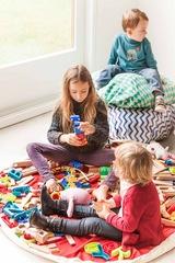 Коврик-мешок для игрушек (2 в 1) Play&Go Print ЗЕЛЕНЫЙ БРИЛЛИАНТ 79958 1