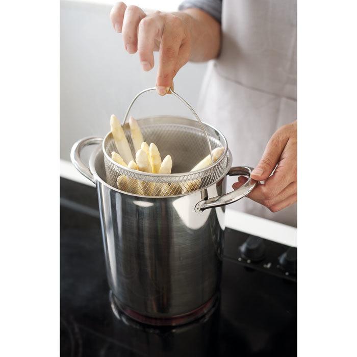 Кастрюля для варки спаржи с ситом 4,1 л (16 см)