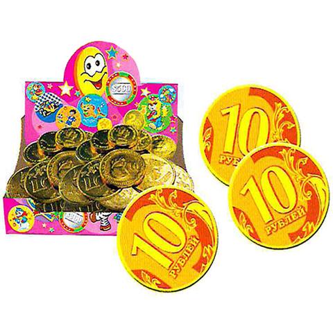 Монетка 4,5г золотая