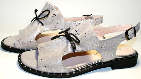 Бежевые босоножки на низком каблуке. Закрытые босоножки на шнуровке. Летние босоножки сандали женские кожаные Marani Magli - Light Beige.