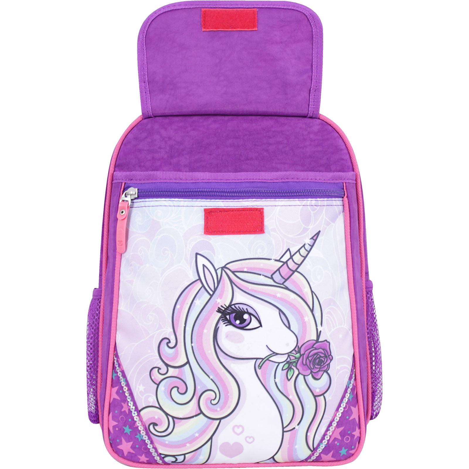 Рюкзак школьный Bagland Отличник 20 л. фиолетовый 678 (0058070)