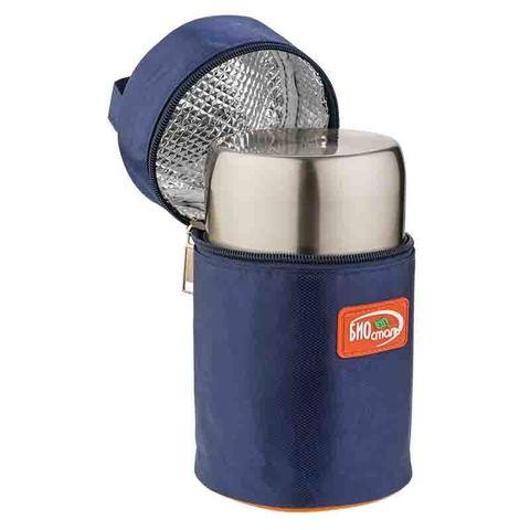 Термос для еды Biostal Авто (0,5 литра) с термочехлом, медный