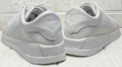 Спортивные туфли женские белые кроссовки Evromoda 141-1511 White Leather.