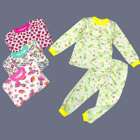 Пижама утепленная девочке (5-8) 210828-J71038