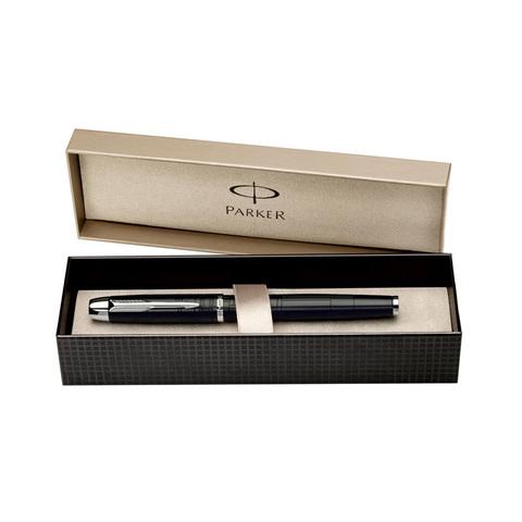 Parker IM Premium - Matt Black CT, ручка-роллер, F, BL