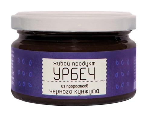 Урбеч из проростков семян черного кунжута 225 гр.