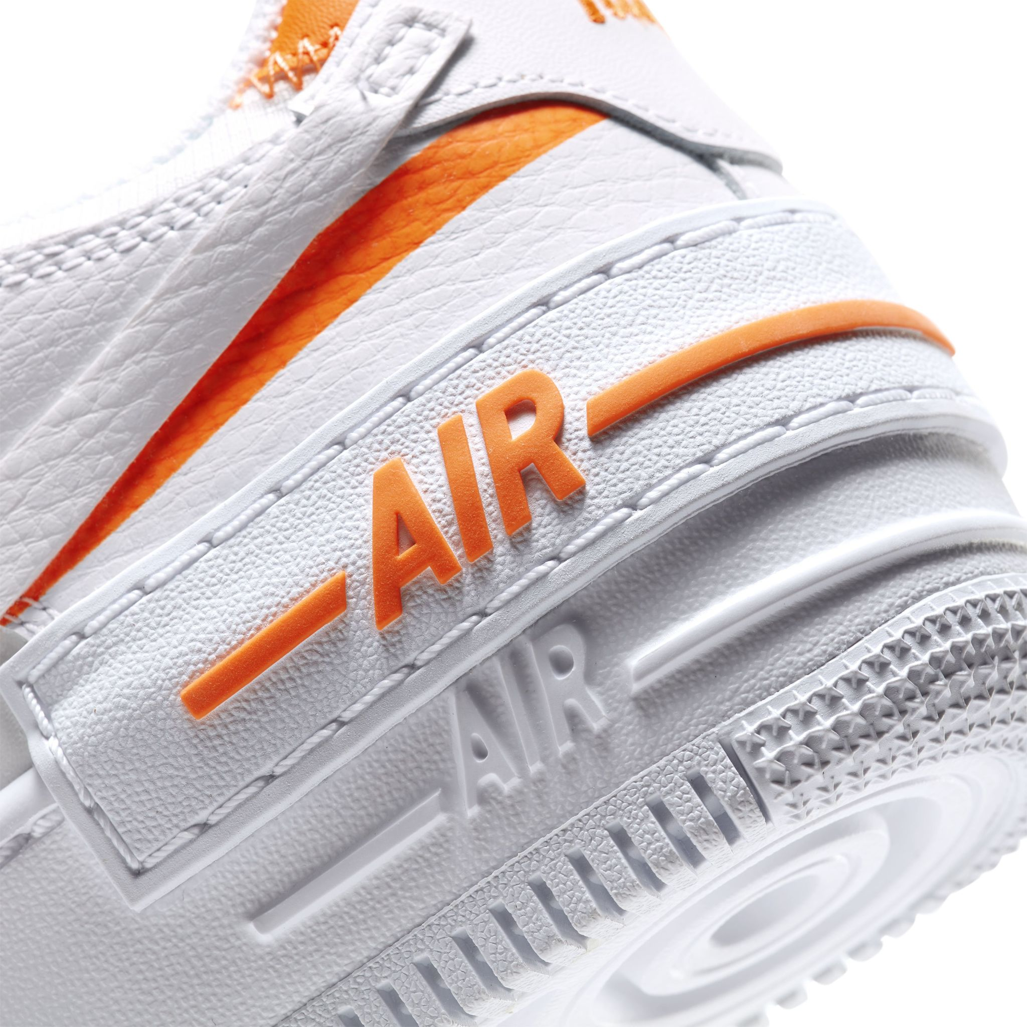 Nike Air Force 1 Shadow White/Orange