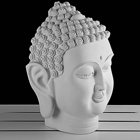 Сувенир Ум Будды, гипс, 31 x 20,5 х 44 см