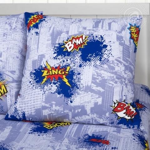 Детское постельное бельё Супергерои БЯЗЬ