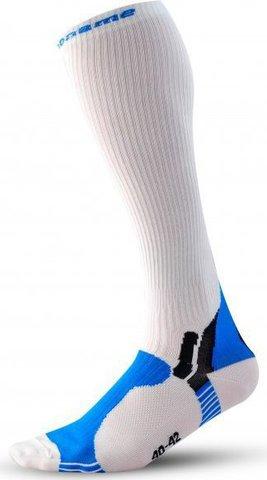 Носки компрессионные Noname NC1 13, white/blue