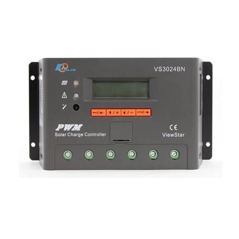 Контроллер заряда EPSolar VS3024BN (PWM, 30A, 12/24В, LCD дисплей)