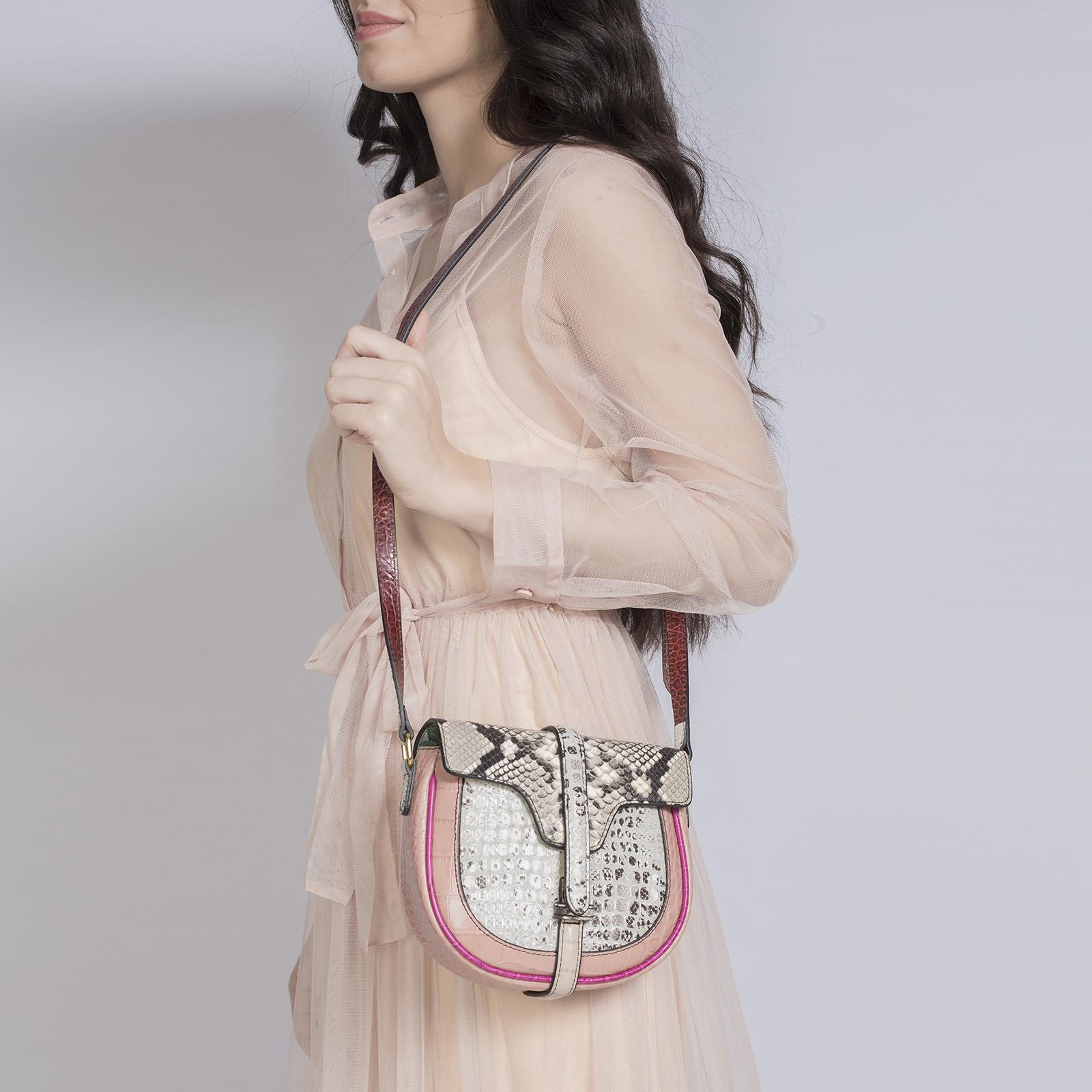 Saddle bag, UNO, It Bag (розовый)