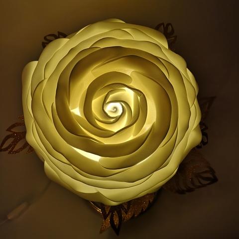 Светильник цветок роза ЗОЛОТКО (ассортимент )