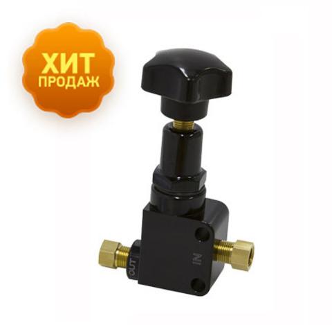 Винтовой регулятор тормозных усилий с фитингами для регулировки баланса тормозов
