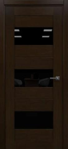 Дверь 2/23 (африканский орех, остекленная экошпон), фабрика Ладора