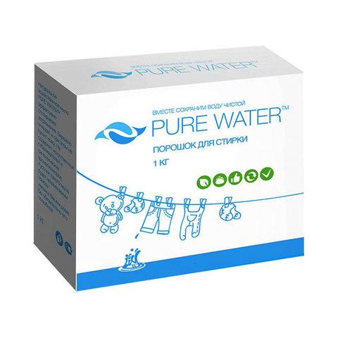 Экологичный стиральный порошок-концентрат 1 кг, Pure Water