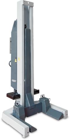 Подкатные колонны для грузовых авто, комплект, Blitz HydroLift S3 (4шт. по 6,2т)