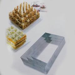 Набор прямоугольных форм для выкладки, выпекания