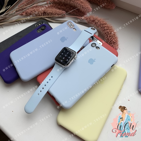 Ремешок Apple watch 38/40mm Sport Band /sky blue/ светло-голубой
