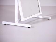 Т-60-40 Зеркало напольное обувное (белое)