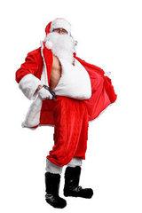 Накладной живот Деда Мороза