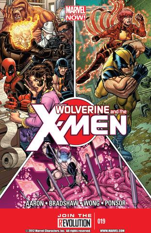 Wolverine & The X-Men #19
