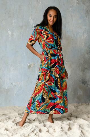 Платье длинное Mia-Mia вискоза