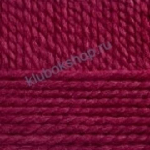 Пряжа Осенняя (Пехорка) цвет 07 бордо