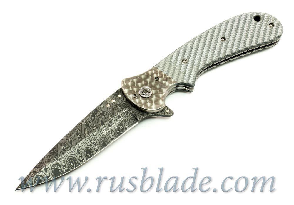 Dressed Flipper - 8 Diamond Inlays Crawford